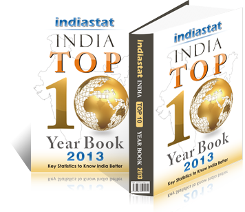 Indiastat India Top 10 Yearbook 2013