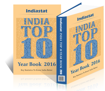 Indiastat India Top 10 Yearbook 2016